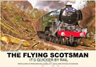 Vintage Style Railway Poster Flying Scotsman A4/A3/A2 Print