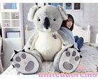 Lovely Stuffed Giant Koala Bear Plush Doll Toy Birth Girlfriend Valentine Gift