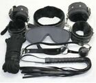 Unisex - Sex Toy Set Adult Kit Handcuffs Legcuffs Ball Ropes Blindfold Valentines Gift