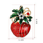 FASHION WOMEN'S CHRISTMAS FRUIT APPLES BROOCH PIN LADY XMAS JEWELRY GIFT AMPLE