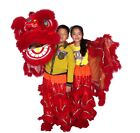 high quality pur Lion Dance Costume pure wool Southern Lion kid size For two kid