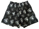Oakland Raiders Allover Logo Black Cotton Boxer Shorts Briefs Underwear NFL