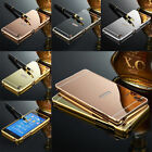 New Luxury Aluminum Ultra-Thin Mirror Metal Case Cover For Sony Xperia Phone