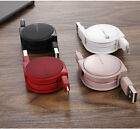 Retractable Fastest Data Sync USB Cable Charger 1M For Samsung Xiaomi Huawei