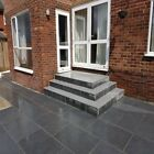 Silver Grey Granite Paving Flags Slabs pavers - £21.69m2  delivered  ✔