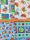 THOMAS THE TANK ENGINE 100% cotton fabrics  by the 1/2 metre CHOOSE DESIGN