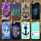 Infinity Anchor I refuse to sink  UV Case Cover Apple iPhone HTC Huawei P9 LG