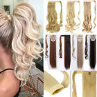 Real Thick Hair Extensions Wrap Around Ponytail One Piece Clip In Pony Tail TF2