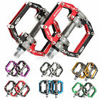 RockBros Road Mountain Bike Aluminum Alloy Cycling Pedals Sealed Bearing 9/16 ""