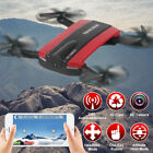 JXD523 Altitude Hold FPV WIFI RC Quadcopter HD Camera Drone Selfie Foldable