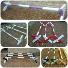 Set of 3 x cavaletti jumps with poles, colour options in listing