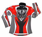 WULFSPORT WULF TRIALS SHIRT TOP 2017 ATTACK RED BLACK