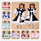 Japanese anime LONG sleeve  maid costume  cafe maid servants  for Cosplay