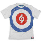 Spirit of 69 Limited Edition TARGET White T-Shirt Skinhead Mod Slim-Fit XL / 2XL