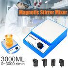 Home Laboratory Magnetic Mixer Stirrer Stirrers Apparatus AC100-240V EU/UK Plug
