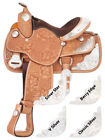 Silver Royal Youth Challenger Silver Show Berry Edge Trim Saddle Package