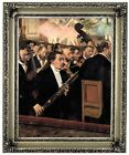 Degas The Orchestra at the Opera 1870 Wood Framed Canvas Print Repro 11x14