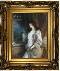 Macbeth The nightingale's song 1904 Wood Framed Canvas Print Repro 11x14