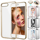 For Apple iPhone 7 8 Plus Slim Crystal Clear Shockproof Case TPU Bumper Cover
