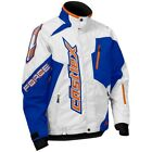 Castle X Men's Force Blue/Orange Removable Liner Snowmobile Jacket 70-952X