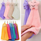Home Face Hand Towel Kitchen Bath Hanging Cleaning Soft Wipe Wash Cloth 1pc