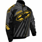 Castle X Men's Launch SE G2 Black/Yellow Insulated Snowmobile Jacket 70-913X