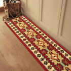 Custom Size Stair Hallway Runner Rug Rubber Back Non Skid Red Traditional Kilim