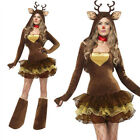 NEW Adults Womans Girls Cosplay Costume Fancy Party Dress Funny Cartoon Brown