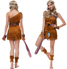 Halloween Lady's Indian Savage Cosplay Fancy Native Clothing Wild Forest Hunter