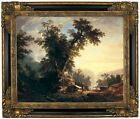 Durand The Indians Vespers Framed Canvas Print Repro 16x20