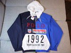 Polo Ralph Lauren 1992 Stadium Collection Blue Pullover Jacket Size XS ~ XXL F/S