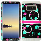 For Samsung Galaxy Note 8 - KoolKase Hybrid Silicone Cover Case Bubble Circle 89