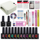 UV/LED Nail Gel Polish Starter Kit Set 36W UV Lamp 80 Color Gel Nail Polish 10ml