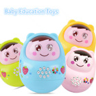 LED Music Toy Tumbler Roly-Poly Baby Education Learning Toys Kids Fun Gift 1pc