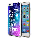 For Various Phones Design Hard Back Case Cover Skin - Be Kind