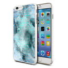 For Various Phones Design Hard Back Case Cover Skin - Mint Marble Fusion
