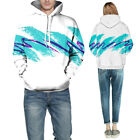 3D Hooded Sweater Long Sleeve Couple Fashion Hoodie Sweater Pullover Mens Womens