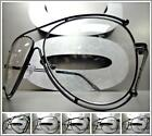 New WHOLESALE LOT VINTAGE RETRO Style Clear Lens Fashion Eye Glasses Black Frame