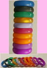 Silicone Wedding Ring Band Spring Colors Flex 5 6 7 8  Women Girl Female
