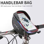 6'' Waterproof Bicycle Bike Cycling Front Frame Tube Handlebar Bag Phone Pouch