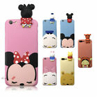 3D Cartoon Disney Characters Minnie Soft Silicone Case Cover Skin For iPhone 8 7