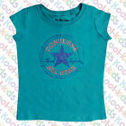 CONVERSE GIRLS BLACK T-SHIRT ( same style as picture but black) - BNWTS