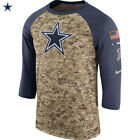 Nike 2017 NFL Salute to Service Dallas Cowboys T-Shirt USA Army Limited Edition