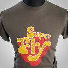 SuperFly T Shirt Retro Curtis Mayfield Ron O'Neal Movie Album Cool Tee 70's
