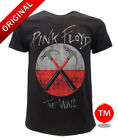 T-SHIRT PINK FLOYD THE WALL LOGO  BAND ORIGINALE MAGLIA TSHIRT ROCK OFFICIAL