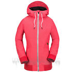 VOLCOM Womens 2018 Snowboard Snow ALESK INSULATED JACKET Bright Rose