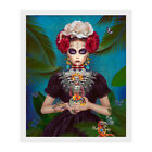 Купить Frida Kahlo Art Canvas Print Painting Picture Wall Mural Hanging Home Decor