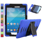 Hybrid Heavy Shock Proof Rugged Hard Case Cover For Samsung Galaxy Tab 3/4/A/E