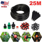 25M Auto/Manual Water Irrigation System Kit Timer Self Drip Garden Watering Set