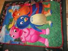 15 Vintage Cartoon Character Toddler Bed Comforters/Blankets {Sold Separate}